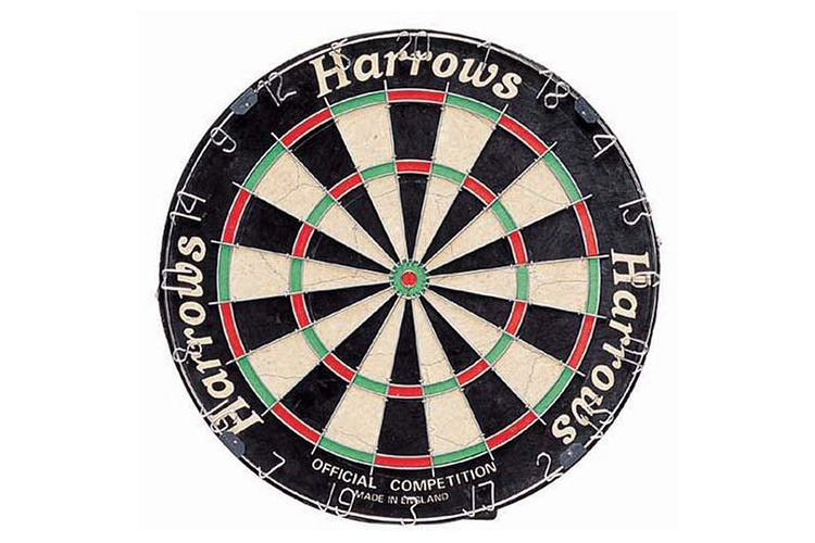 Harrows Official Competition jeu de fléchettes
